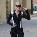 Julianne Hough Works On Her Fitness