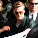 David And Preggers Victoria Beckham At Pre-Oscar Party