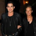 Adam Lambert Leathers Up With His New Boyfriend