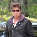 Billy Ray And Tish Cyrus Reunite To Pay Respects At An LA Pet Cemetery