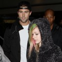 Avril And Brody Leave Los Angeles