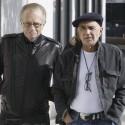 Larry King Walks With Pal Robert Shapiro