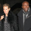 Heidi Klum And Seal Dine In Beverly Hills