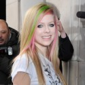 Avril Lavigne Smiles For Her French Fans