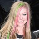 Avril Smiles In London