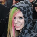 Avril And Brody Leave Their Hotel In Paris