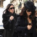 Demi And Ashton And Salma In Paris