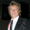 Rod Stewart And Penny Lancaster Head To Dinner In London