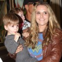 Brooke Mueller And Her Boys At The Grove