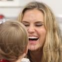 Brooke Mueller Takes Her Boys To Dinner
