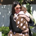 Oksana Grigorieva Takes Daughter Lucia Out In The Valley