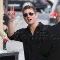 Ryan Phillippe Waves Hi To Fans