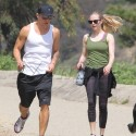 Ryan Phillippe And Amanda Seyfried Hike