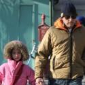 Michael Douglas Walks His Daughter To School In NYC