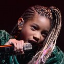 Justin Bieber And Willow Smith Perform In The UK