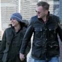 Hugh Jackman And Jennifer Connelly Walk Their Kids To School