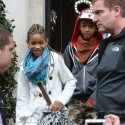 Will Smith And Kids In Dublin