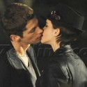 Emma Watson Films Kissing Scene For Lancome