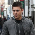 Zac On Set In NYC
