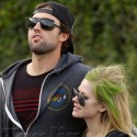 Avril Lavigne And Brody Jenner Show Plenty Of PDA At Whole Foods