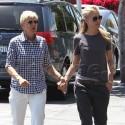 Ellen And Portia Go Hand-In-Hand