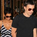 Halle and Olivier Do Lunch