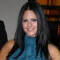 Pia Toscano Smiles Outside Of MTV Studios