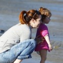 Alyson Hannigan And Company Hit The Beach