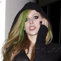 Avril's ready for Halloween!