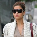 Eva Mendes Looks Chic While Shopping