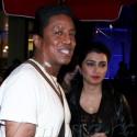Jermaine Jackson And Wife Halima Grab Dinner At BOA