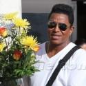 Jermaine Jackson Buys Flowers At The Market