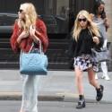 Mary-Kate and Ashley Go On A Parisian Shopping Spree