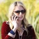 Emma Roberts Makes An Important Phone Call