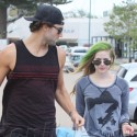 Avril Lavigne And Brody Jenner Shop At Kitson