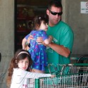 Adam Sandler Takes His Daughters To The Store