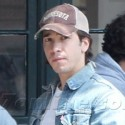 Justin Long Lunches With Pals