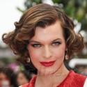 Milla Jovovich At The Red Carpet Of La Conquete