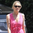 Sharon Stone Shines In Pink