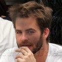 Chris Pine Does Brunch At Chateau Marmont