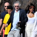 Robert De Niro And His Family In Cannes