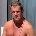 Mel Gibson Goes Topless In Cannes