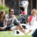 Jessica Alba And Her Family At A Hollywood Park