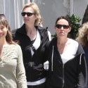 Jane Lynch Spends Time With Her Wife
