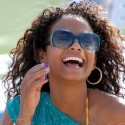 Christina Milian Spends Time At The Beach With Violet