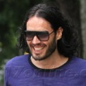 Russell Brand Flashes A Smile In LA