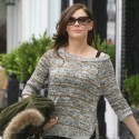 Rose McGowan shopping in Beverly Hills