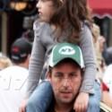 Adam Sandler Takes His Daughter To Disneyland