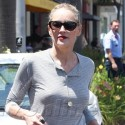 Sharon Stone Is Bra-Less In Beverly Hills