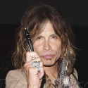 Steven Tyler Signs Autographs In Los Angeles
